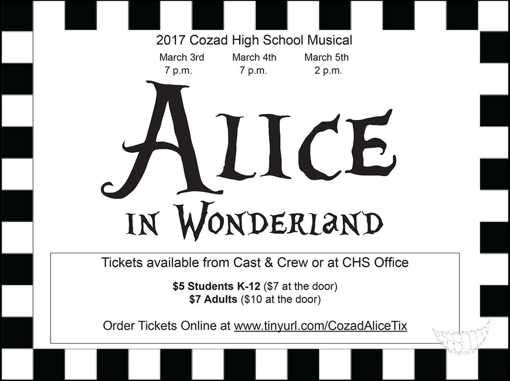 CHS Musical this Weekend!