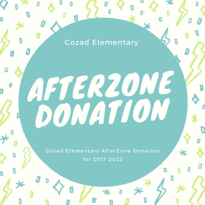 Cozad Elementary AfterZone Grant