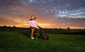 COZAD HIGH SCHOOL SENIOR LEAVES IT ALL ON THE COURSE AND BECOMES SCHOOL WINNER IN WENDY'S HIGH SCHOOL HEISMAN
