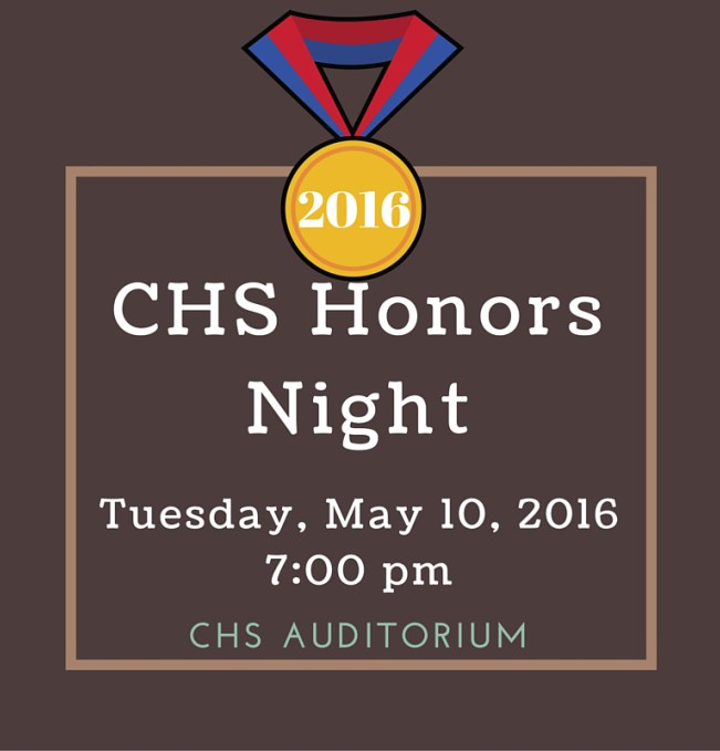 CHS Honors Night 2016